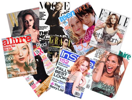 Women fashion magazines. Women clothing stores